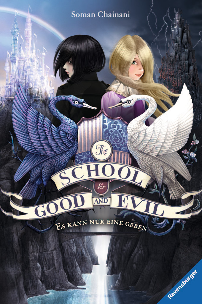 "||► Buch-Vorstellung ◄|| ""The School for Good and Evil"" von Soman Chainani ♥"