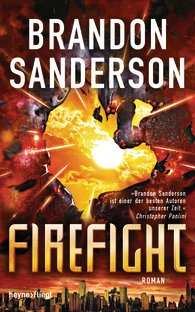 "||► Rezension ◄|| ""Firefight"" von Brandon Sanderson"