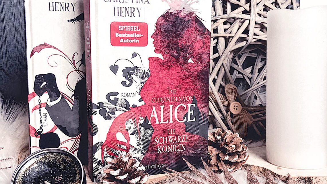 ||» Rezension «|| Die Chroniken von Alice 02: die schwarze Königin [von Christina Henry]